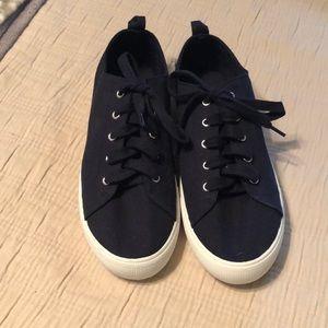 H&M Navy sneakers